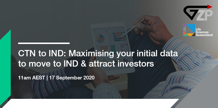 CTN to IND: Maximising your initial data to move to IND and attract investors