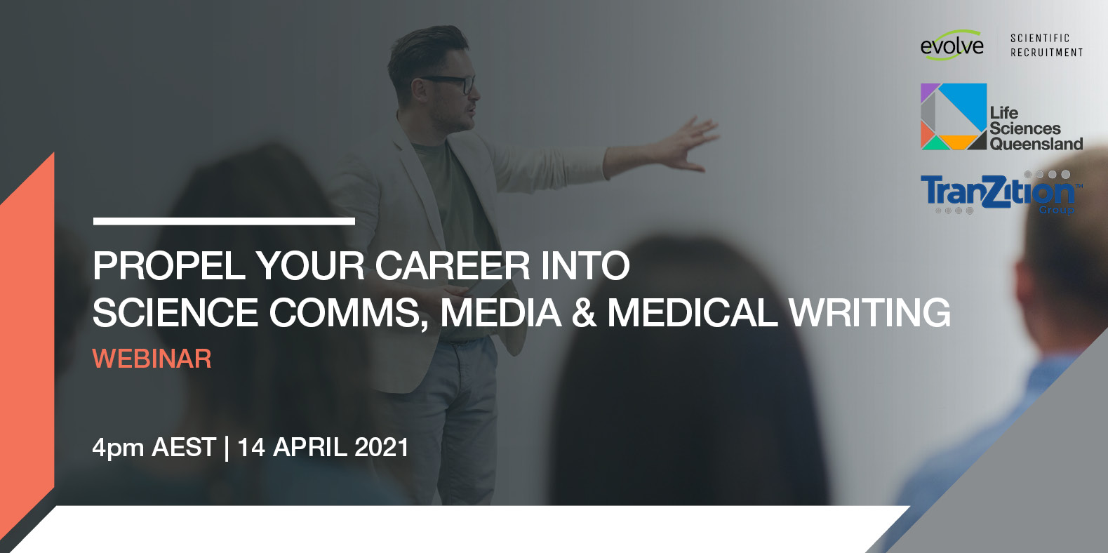 Propel your career into science comms, media and medical writing